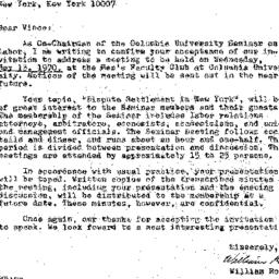 Correspondence, 1970-04-13....