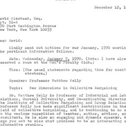 Correspondence, 1969-12-12....
