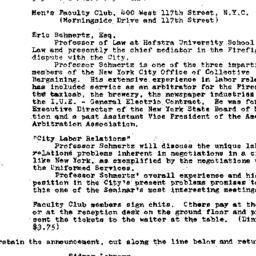 Announcements, 1971-05-19. ...
