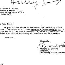 Correspondence, 1975-07-18....