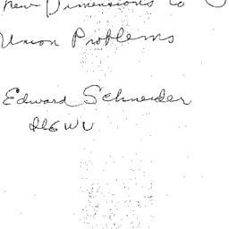 Announcements, 1981-05-11. ...