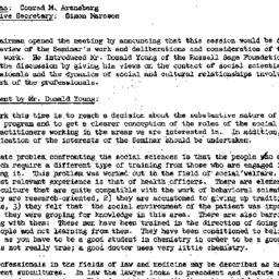 Minutes, 1955-05-10. Develo...