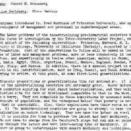 Minutes, 1956-10-09. Develo...