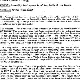 Minutes, 1960-01-05. Develo...