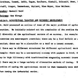Minutes, 1960-02-16. Develo...