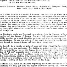 Minutes, 1961-11-14. Develo...