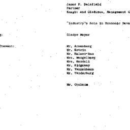 Minutes, 1967-02-14. Develo...