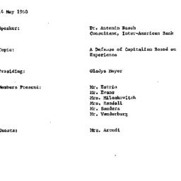 Minutes, 1968-05-14. Develo...