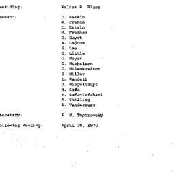 Minutes, 1970-04-07. Develo...