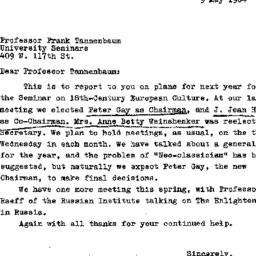 Correspondence, 1965-05-09....