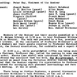 Minutes, 1967-03-15. Eighte...