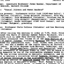 Minutes, 1989-11-16. Eighte...