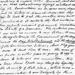 Document, 1776 March 20