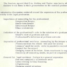 Minutes, 1950-11-06. Eighte...
