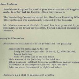 Minutes, 1950-11-14. Eighte...