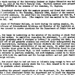 Minutes, 1957-02-15. Higher...