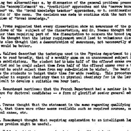 Minutes, 1957-05-31. Higher...