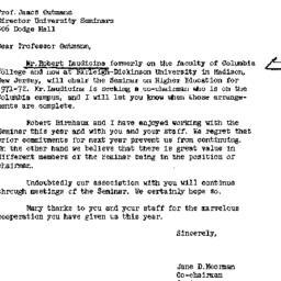 Correspondence, 1972-07-09....