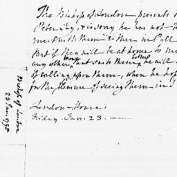 Document, 1795 January 23