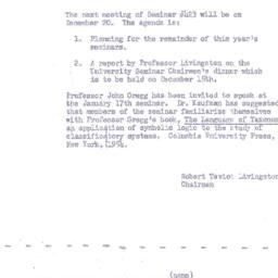 Announcements, 1954-12-20. ...