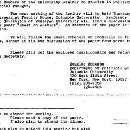 Announcements, 1975-02-10. ...