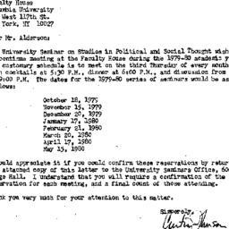 Correspondence, 1980-05-22....