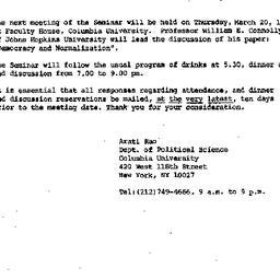 Announcements, 1986-02-27. ...