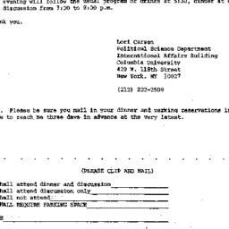 Announcements, 1988-01-15. ...