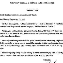 Announcements, 2000-08-03. ...