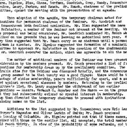 Minutes, 1954-02-03. Americ...