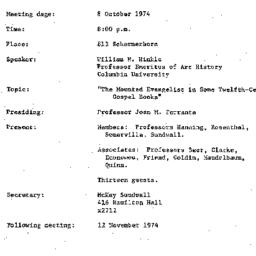 Background paper, 1974-10-0...