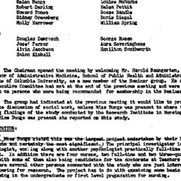 Minutes, 1958-02-11. The Ro...