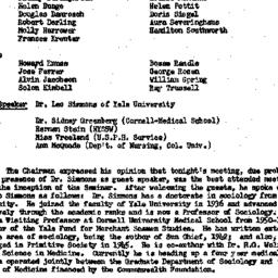 Minutes, 1957-11-12. The Ro...