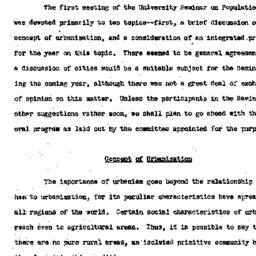 Minutes, 1950-11-13. Popula...