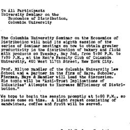 Announcements, 1961-04-24. ...