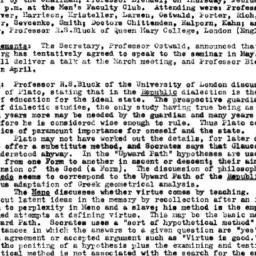 Minutes, 1958-02-20. Classi...