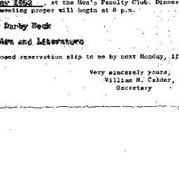 Announcements, 1962-05-17. ...