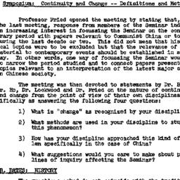 Minutes, 1958-10-08. Modern...