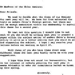Announcements, 1964-04-27. ...