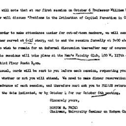 Announcements, 1965-09-24. ...