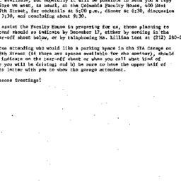 Announcements, 1973-12-07. ...