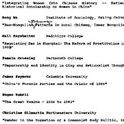 Handouts, 1991-05-22. Moder...