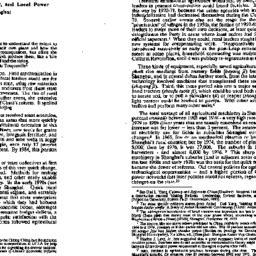 Speaker's paper, 1997-05-08...