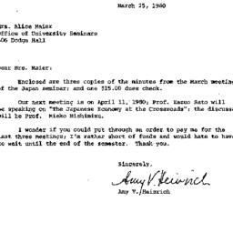 Correspondence, 1980-03-25....