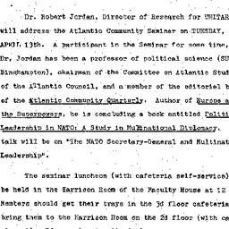 Announcements, 1976-04-13. ...