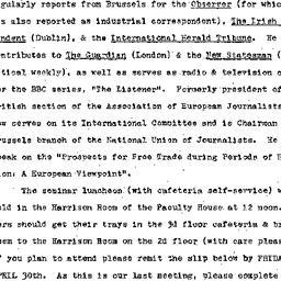 Announcements, 1976-05-04. ...