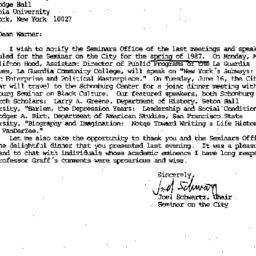 Correspondence, 1987-04-23....