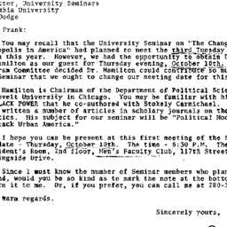 Correspondence, 1968-09-27....