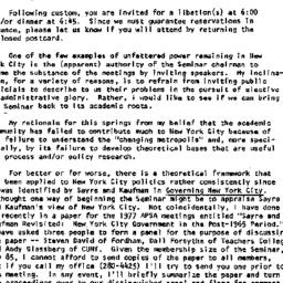 Announcements, 1977-09-21. ...