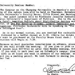 Announcements, 1989-10-12. ...